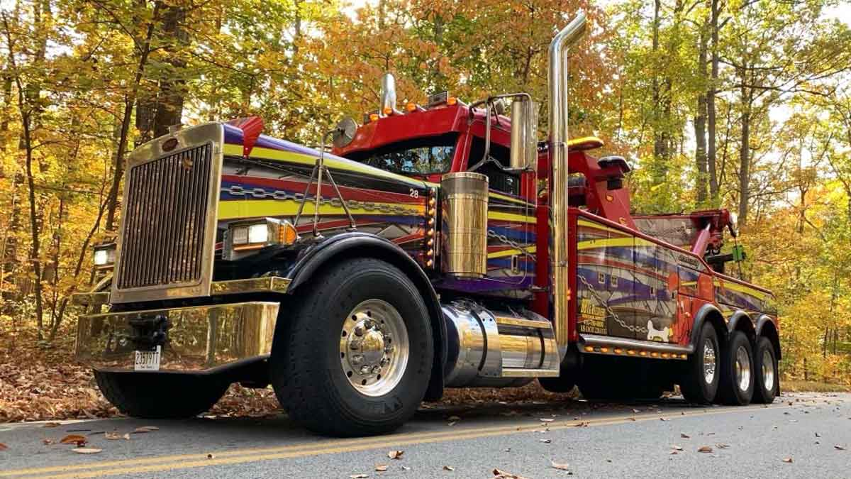 Heavy Towing Company Baltimore MD